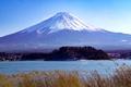 Картинка пейзаж, гора, вулкан, Япония, Fuji