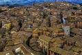 Картинка дома, крыши, Италия, Сиена