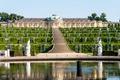 Картинка зелень, дизайн, Германия, лестница, ступени, фонтан, кусты