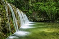 Картинка лес, водопад, Италия, Veneto, Mondrago