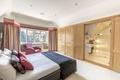 Картинка дизайн, кровать, шкаф, ванная, спальня