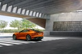 Картинка F-Type, Coupe, Jaguar, оранжевый, ягуар, купе