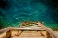 Картинка вода, глубина, лестница
