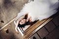 Картинка девушка, улыбка, платье, невеста