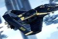 Картинка полет, корабль, Star Citizen, Origin 350R