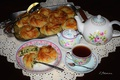 Картинка чай, чайник, выпечка, булочки, шпинат