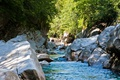 Картинка Швейцария, Verzasca Valley, лес, камни, ручей