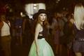 Картинка девушка, юбка, шляпа