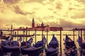 Картинка лодка, Италия, Венеция, канал, гондола