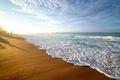 Картинка песок, море, пляж, beach, sea, sand, shore