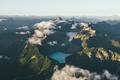 Картинка лес, Бланка, горы.озеро