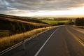 Картинка дорога, лето, небо, облака