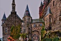 Картинка дизайн, замок, Германия, hdr, Кохем, Reichsburg