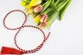 Картинка тюльпаны, flowers, tulips, bouquet