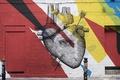 Картинка город, улица, графити
