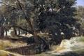 Картинка пейзаж, картина, Карлос де Хаэс, Сан Висенте де ла Баркера