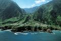 Картинка поля, горы, дома, Португалия, берег, море, Madeira island