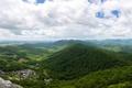 Картинка зелень, лес, облака, горы, панорама, Вирджиния, США