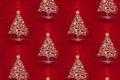 Картинка огни, фон, праздник, текстура, арт, Новый год, ёлочка