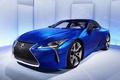Картинка синий, Lexus, седан, лексус