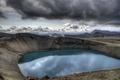 Картинка озеро, кратер, VITI CRATER