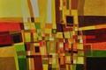 Картинка линии, абстракция, краски, картина, холст