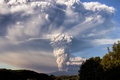Картинка дым, гора, вулкан, облако, Чили, Calbuco