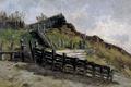 Картинка пейзаж, картина, Карлос де Хаэс, Спуск к Пляжу