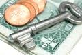 Картинка key, money, coins