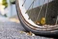 Картинка велосипед, фон, колесо