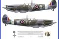 Картинка WW2, Supermarine, Spitfire Mk IXC 611 SQ Biggin