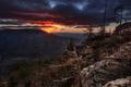 Картинка закат, горы, природа