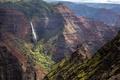Картинка горы, природа, водопад, Kauai, Кауаи