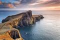 Картинка Scotland, Lighthouse, Neist Point