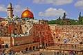 Картинка небо, Иерусалим, Израиль, стена плача, хрАм