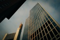 Картинка небо, здание, окна, стекла