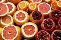Картинка фрукты, грейпфрут, гранат