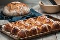 Картинка хлеб, выпечка, булочки