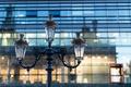 Картинка макро, Франция, здание, фонарь, France, Lyon, Лион