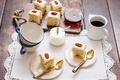 Картинка чашки, выпечка, пирожные, бисквит, пекан