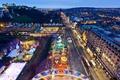 Картинка праздник, Шотландия, Рождество, рынок, Эдинбур, Принцесс-стрит