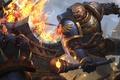 Картинка фантастика, воин, арт, броня, hon, Heroes of Newerth, Legionnaire