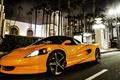 Картинка Concept, оранжевый, город, концепт, суперкар, Vision, SZR