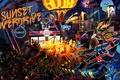 Картинка Sunset Overdrive, Insomniac Games, Sunset City, напиток Overcharge Delirium XT, корпорации FizzCo