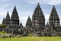 Картинка Индонезия, Indonesia, Прамбанан, Храмовый комплекс