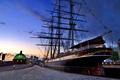 Картинка корабль, Англия, Лондон, причал, Гринвич