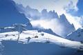 Картинка снег, горы, Франция, подъемник, Рона-Альпы, Савойя, Валь Торанс