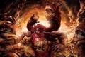 Картинка fear, creature, teeth, Dante Inferno