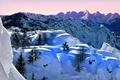 Картинка зима, снег, горы, Италия, Ломбардия, Моджо