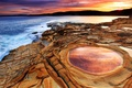 Картинка море, пейзаж, берег, Австралия, Nova Gales do Sul, Parque Bouddi, Praia de Putty